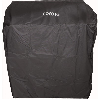 Coyote Outdoors 30 In Vinyl Protective Weatherproof Cart Grill Cover for C2SL30