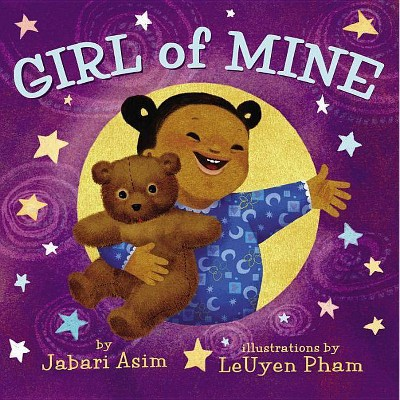 Girl of Mine by Jabari Asim (Board Book)