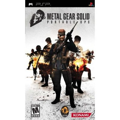 Metal Gear Solid: Portable Ops - Sony PSP