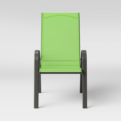 Sling Stacking Patio Chair - Green - Room Essentials™