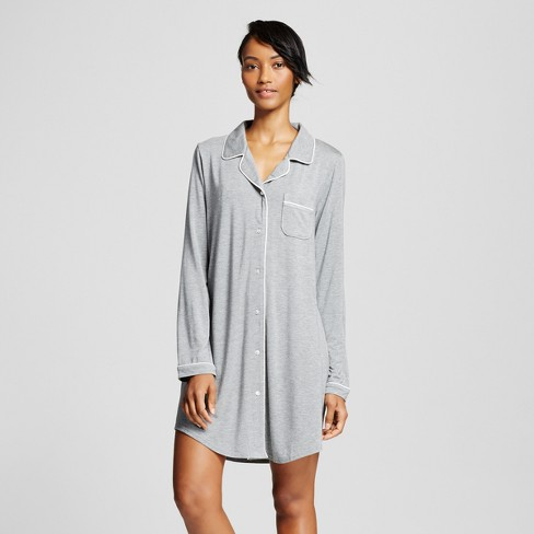 Women s Total Comfort Nightgown - Gilligan   O Malley™ Heather Gray ... 5ce43d389