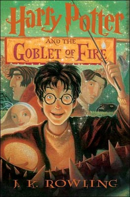 Harry Potter and the Goblet of Fire by J. K. Rowling (Hardcover)