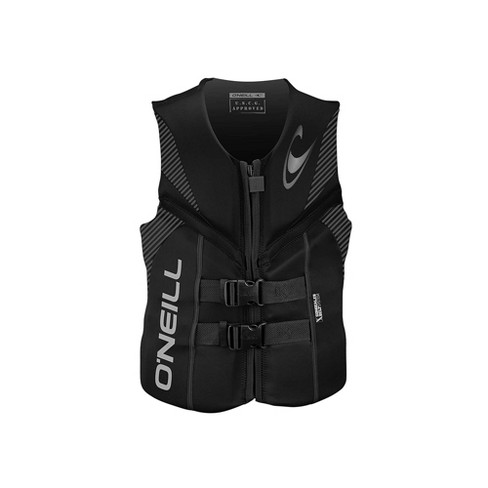 O'Neill Reactor USCG Wakeboarding/Waterskiing Life Vest, Size X Large, Black - image 1 of 3