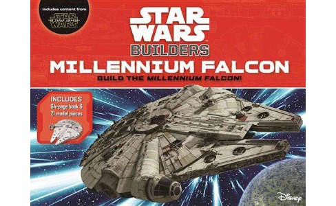 Star Wars Builders Millenium Falcon : Build the Millennium Falcon! (Hardcover) (Benjamin Harper) - image 1 of 1