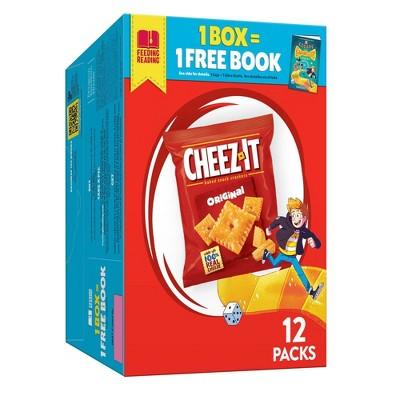 Cheez-It Original Baked Snack Crackers - 1oz - 12ct
