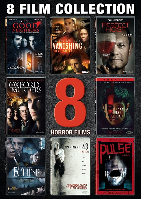 Horror 8 film collection (DVD) - image 1 of 1