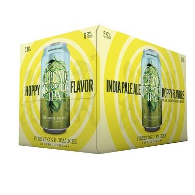 Firestone Walker Luponic Distortion IPA Beer - 6pk/12 fl oz Cans