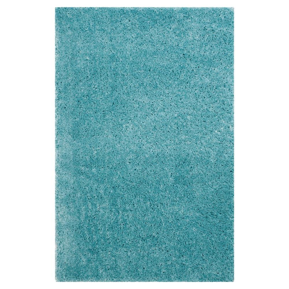 Indie Shag Rug - Turquoise - (4'X6') - Safavieh