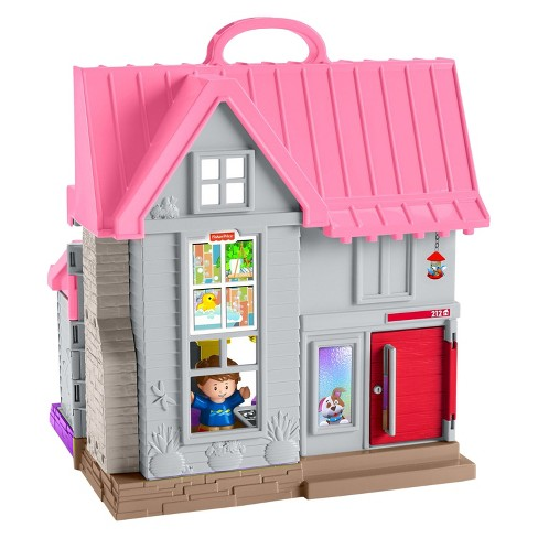 Fisher Price Little People Big Helpers Home Pink Target