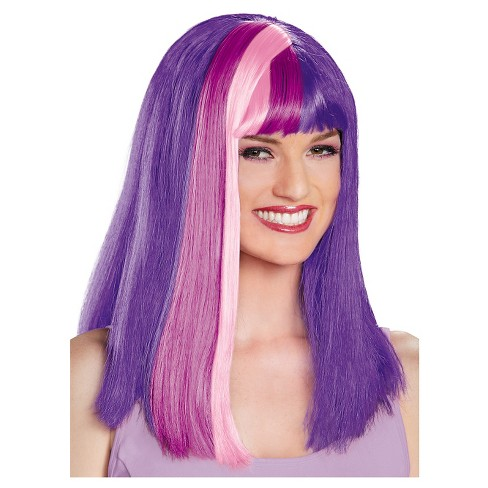 Twilight Sparkle Costume Wig Adult - One Size Fits Most - image 1 of 1