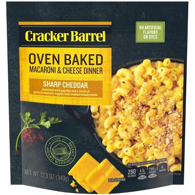 Mac & Cheese: Cracker Barrel Oven Baked
