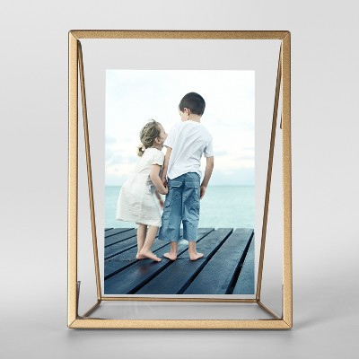 Easel Single Image Frame 4x6 Gold - Project 62™