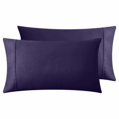 400 Thread Count 100% Cotton - Sateen Weave, Ultra Soft Pillowcase Pair - California Design Den