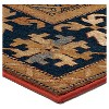 """Tan Solid Woven Area Rug - (5'3""""X7'6"""") - Orian - image 3 of 4"""
