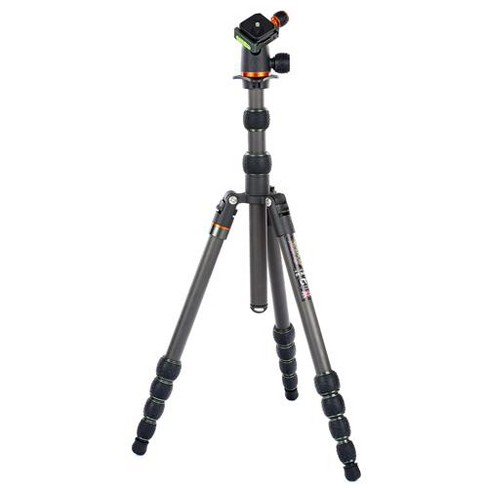 3 Legged Thing Punks Anarchy Brian Carbon Fiber 5-Section Travel Tripod with AirHed Neo Ballhead, 74  Max Height, 30 lbs Capacity, Matte Black - image 1 of 4