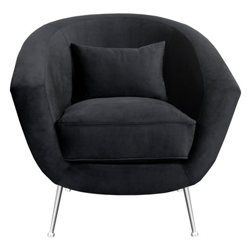 Armen Living Tulare Contemporary Accent Chair Black - image 1 of 5