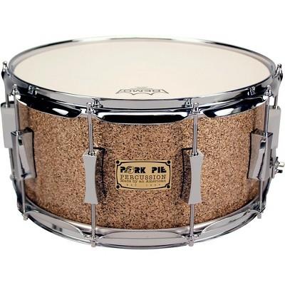 Pork Pie B20 Snare Drum 14 x 6.5 Cymbal Glitter Finish