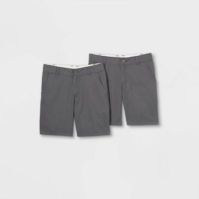 Boys' 2pk Flat Front Chino Shorts - Cat & Jack™