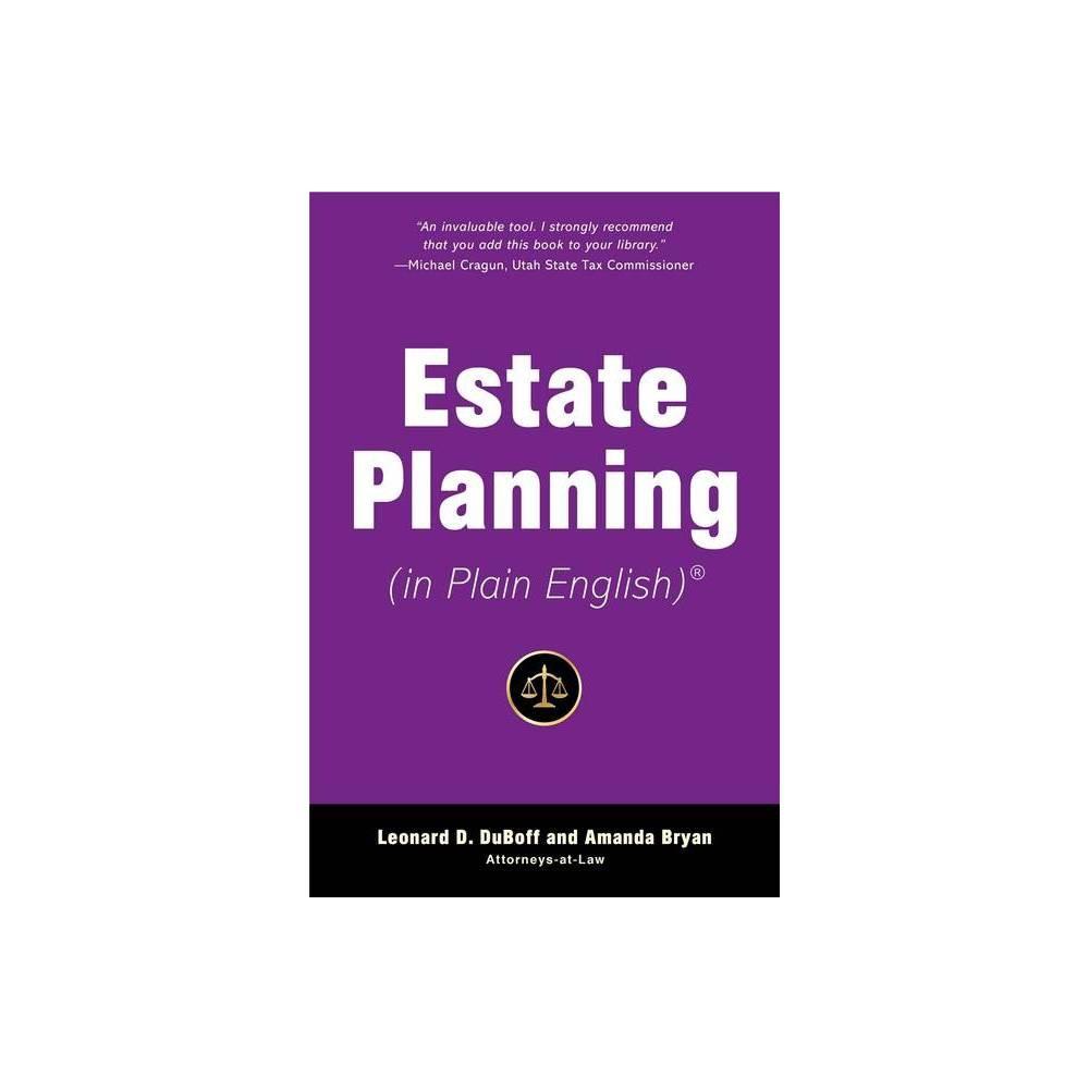 Estate Planning In Plain English In Plain English By Leonard D Duboff Amanda Bryan Paperback