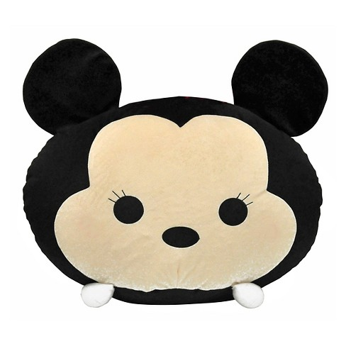 Tsum Tsum Mickey Mouse Bean Bag - Black - Disney - image 1 of 1
