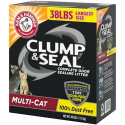 Arm & Hammer Cat Litter Clump & Seal Multi-Cat