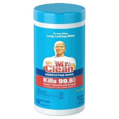 Mr. Clean Disinfectant Wipes - Citrus - 75ct
