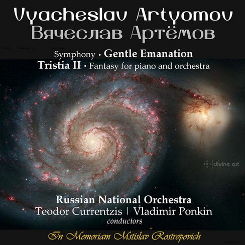 Russian National Orc - Artyomov:Gentle Emanation/Tristia Ii (CD) - image 1 of 1