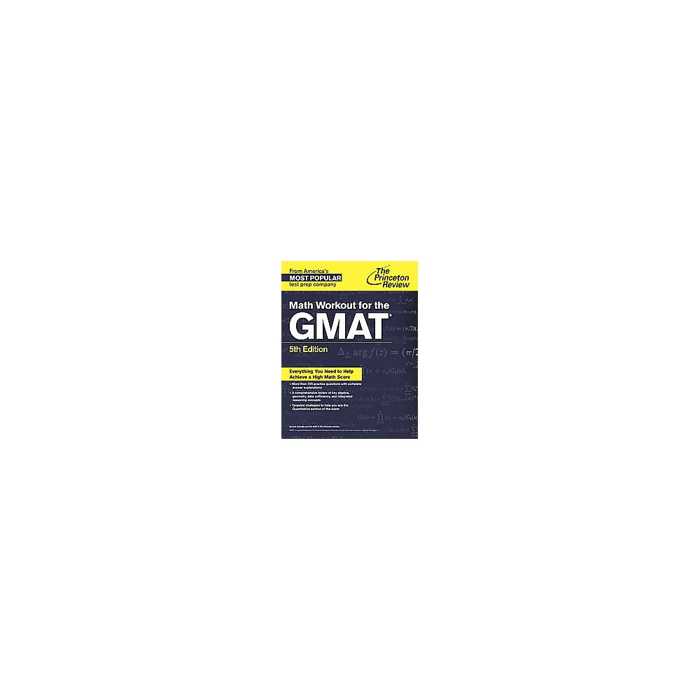Princeton Review Math Workout for the Gmat (Paperback) (Jack Schieffer)