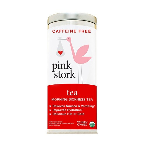 Pink Stork Tea: Morning Sickness Relief Pregnancy Tea - 30 cups - image 1 of 3