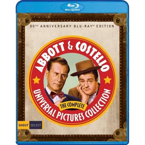 Abbott & Costello: The Complete Universal Pictures Collection (Blu-ray) - image 1 of 1