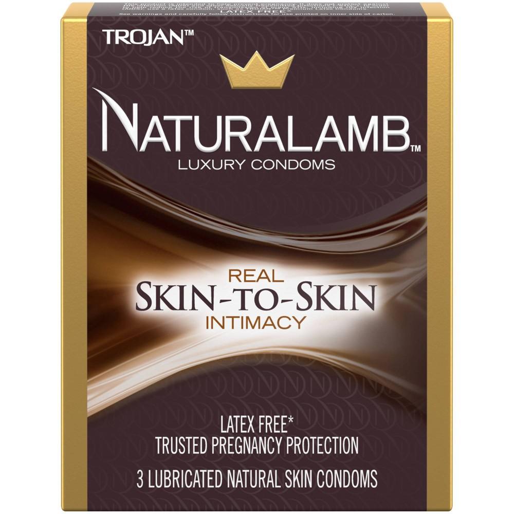 Trojan Naturalamb Latex Free Lubricated Condoms 3ct