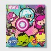 Women's Marvel Avengers 15 Days of Socks Advent Calendar - Assorted Colors One Size - image 2 of 3