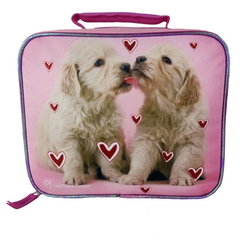 "Rachael Hale Puppies 9.5"" Rectangular Lunch Bag - image 1 of 3"