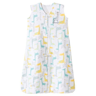 Halo Sleepsack Wearable Blanket 100% Cotton -Giraffe -M