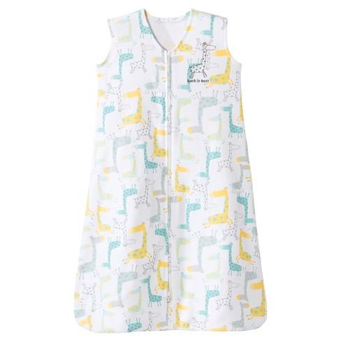 e49bf1ffb19e HALO® Sleepsack® Wearable Blanket 100% Cotton -Giraffe -M   Target
