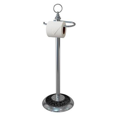 Freestanding Toilet Tissue Holder Chrome - Nu Steel