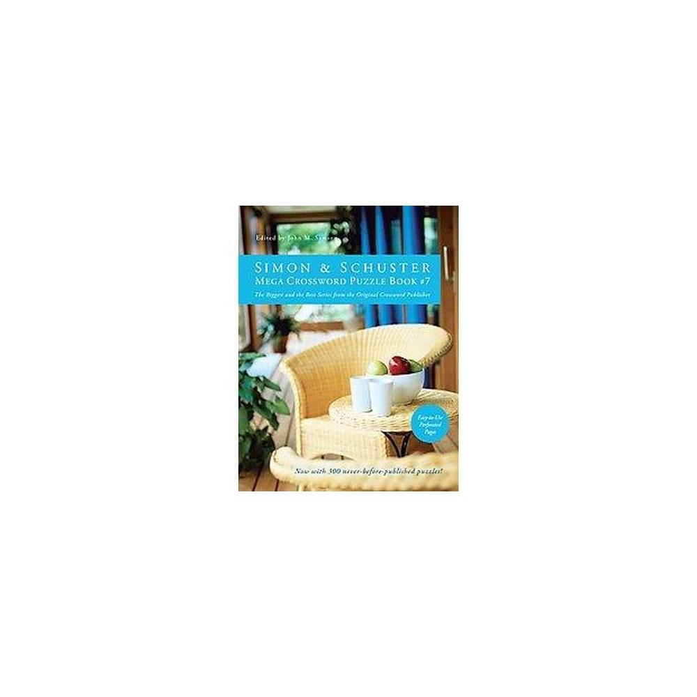 Simon & Schuster Mega Crossword Puzzle Book (Paperback) (John M. Samson)