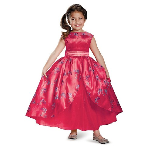 Elena of Avalor Ball Gown Deluxe Toddler Costume - 3T-4T - image 1 of 1