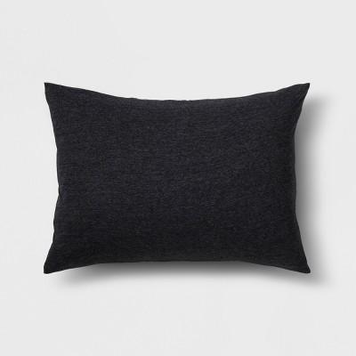 Black Jersey Heather Sham (Standard)- Room Essentials™