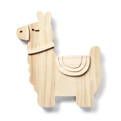 Freestanding Wood Llama - Mondo Llama™