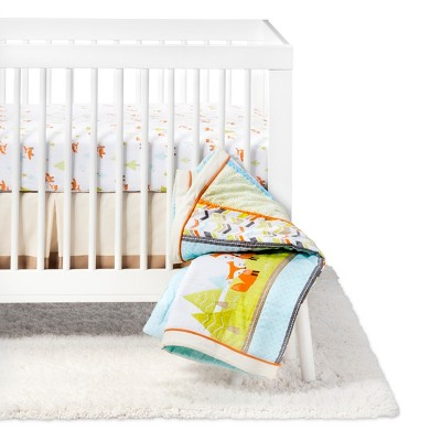 Crib Bedding Set Woodland Trails 4pc - Cloud Island™ - Green/Brown
