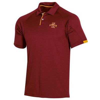 NCAA Iowa State Cyclones Men's Short Sleeved Polo Shirt