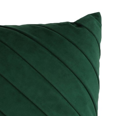 James Pleated Velvet Throw Pillow - Decor Therapy : Target