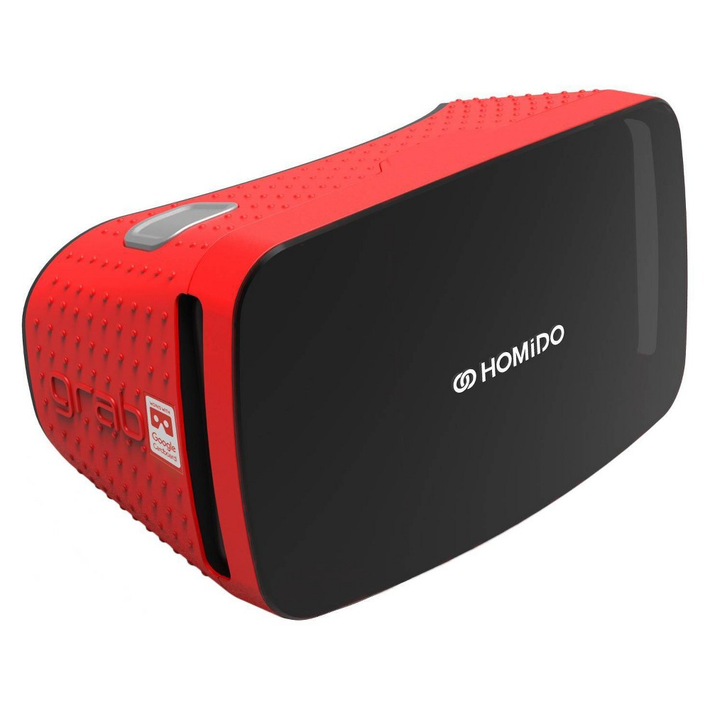 Homido Grab Virtual Reality Red