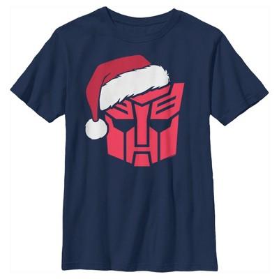 Boy's Transformers Autobot Santa T-Shirt