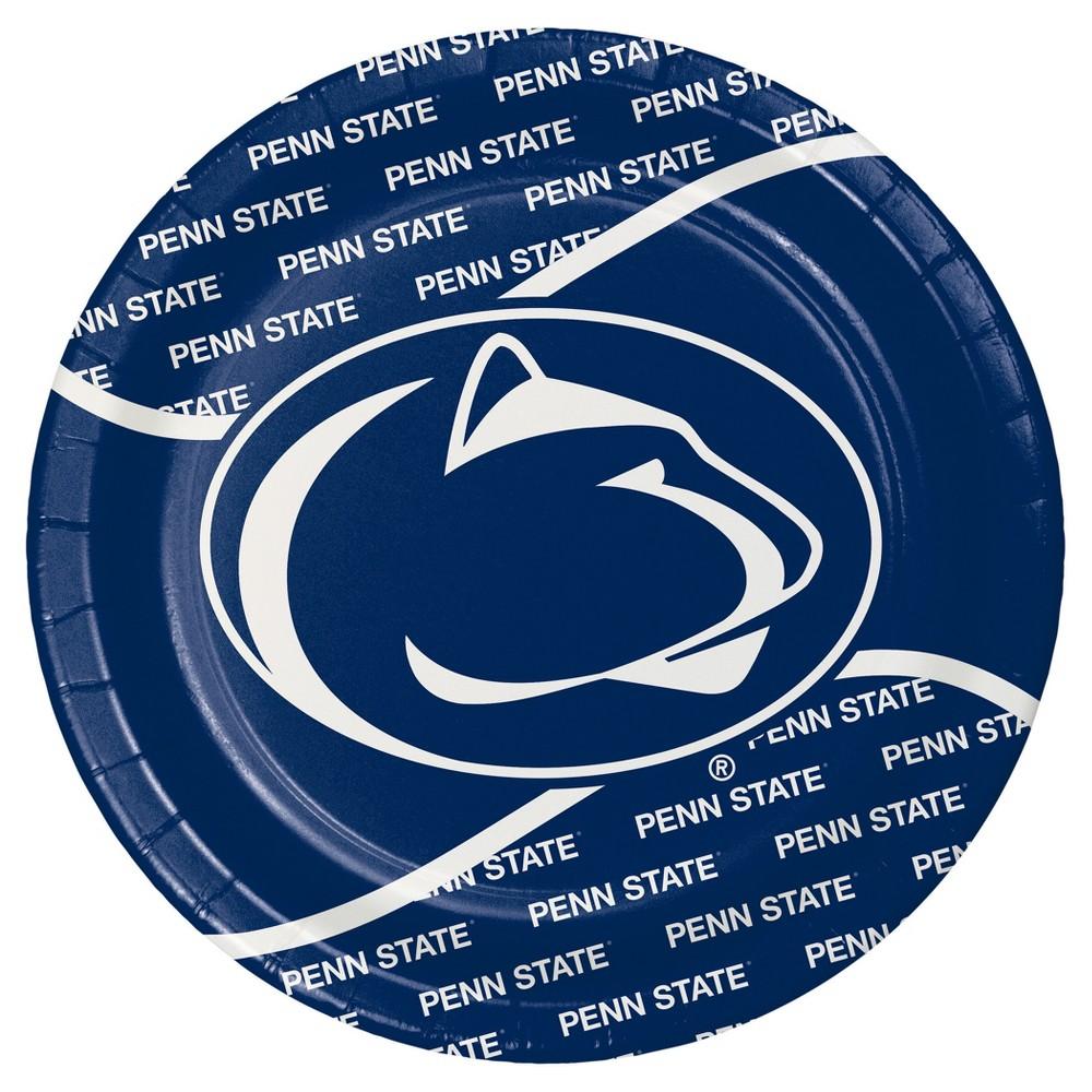 Penn State University 9 Paper Plates 8ct