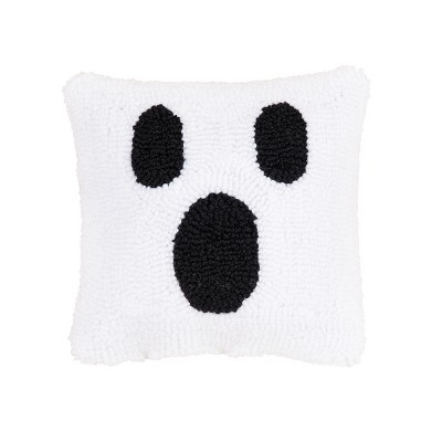 """C&F Home 8"""" x 8"""" Ghost Face Petite Pillow"""