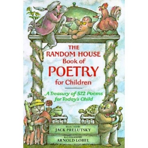 The Random House Book of Poetry for Children - (Random House Book of ...) by  Jack Prelutsky (Hardcover) - image 1 of 1