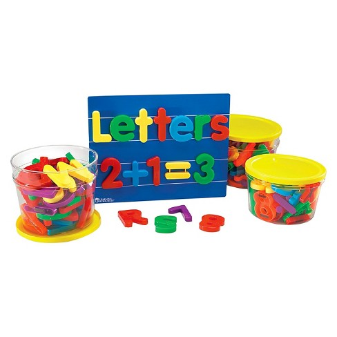 Learning Resources Jumbo Magnetic Letters and Numbers - image 1 of 1
