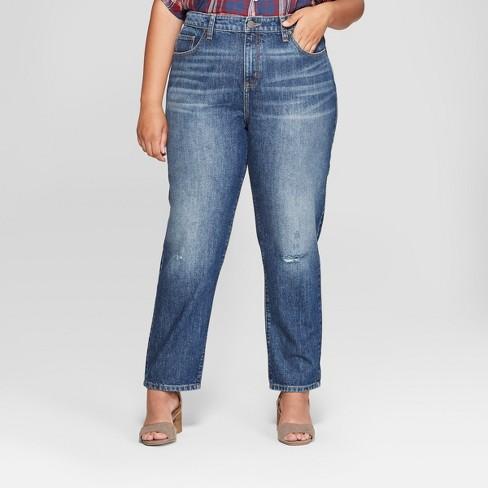 cd3a5cee608 Women s Plus Size Straight Jeans - Universal Thread™ Dark Wash. Shop ...